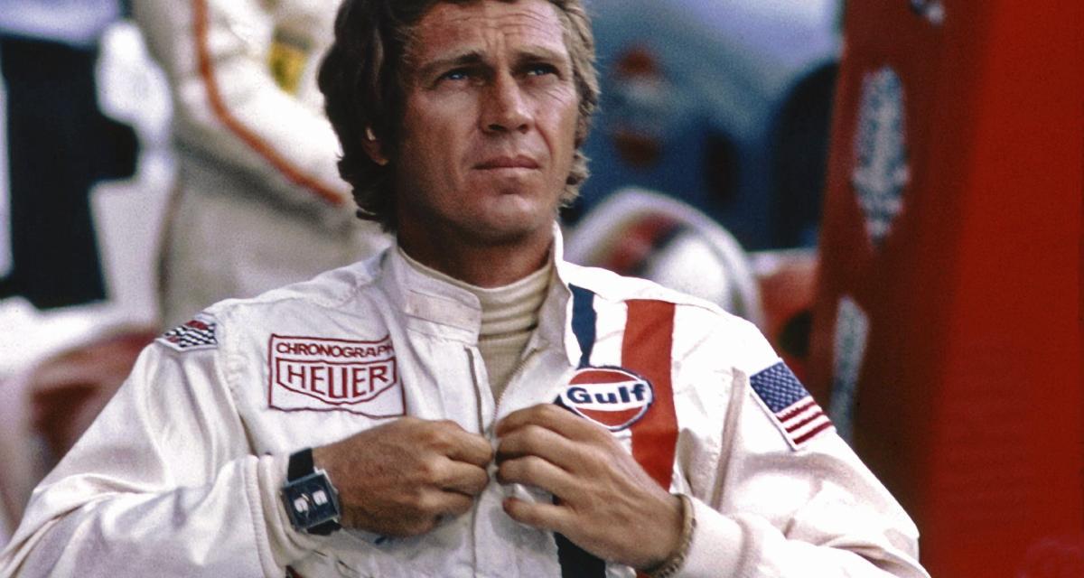 Une Tag Heuer Monaco portée par Steve McQueen dans le film Le Mans à vendre