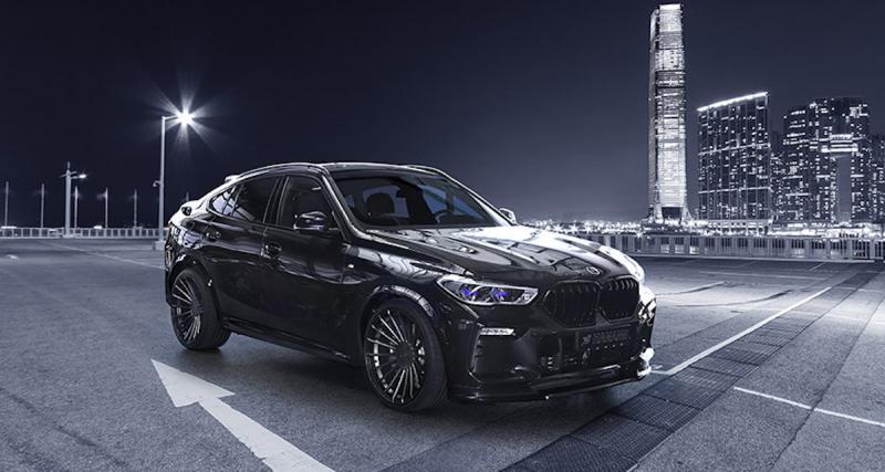 BMW X6 by Hamann : un déguisement full black parfait pour Halloween