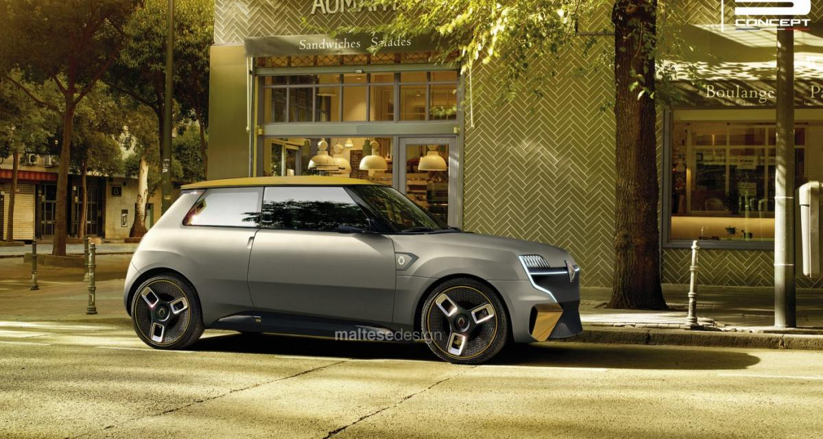 Un nouveau design pour la Renault 5, plus jeune que jamais