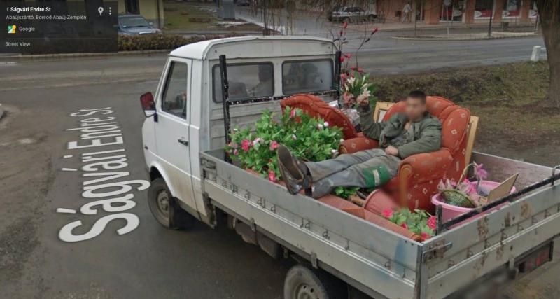 Camionnette tout confort