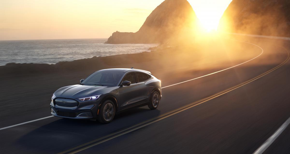 Ford Mustang Mach E : les prix du SUV 100% électrique