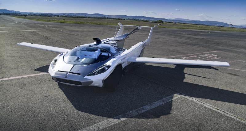 AirCar : le modèle révolutionnaire de Klein Vision vient d'inaugurer son premier vol, direction la route ? (vidéo)