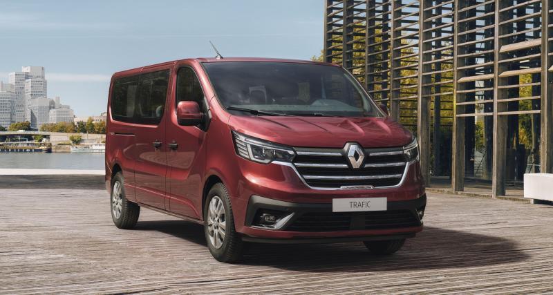 Renault Trafic restylé (2021) : prestations haut de gamme pour les variantes Combi et SpaceClass