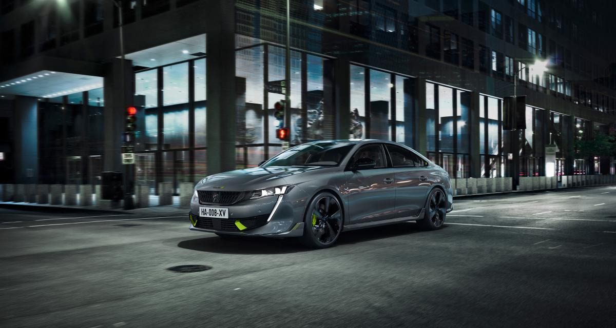 Peugeot 508 PSE (2021) : les prix de la sportive hybride rechargeable