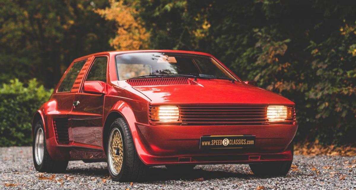 Sbarro Super 8 : mélange savoureux de voitures rétro et de Ferrari à acquérir pour 155.000€