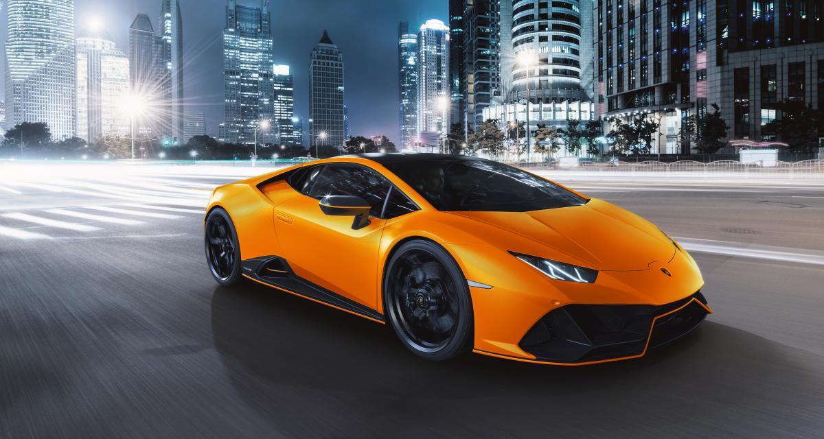 Lamborghini Huracán Evo Fluo Capsule : une collection qui s'annonce haute en couleur