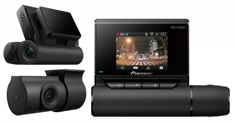 Pioneer commercialise un pack double caméra DVR à un prix attractif