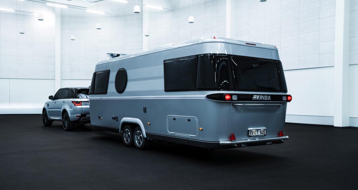 Eriba Touring 820 : la caravane premium qui n'a peur de rien