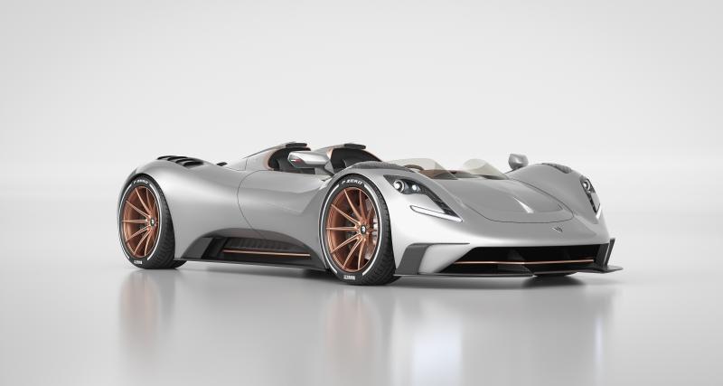 Ares S1 Project Spyder : barquette italienne cherche sportif millionnaire