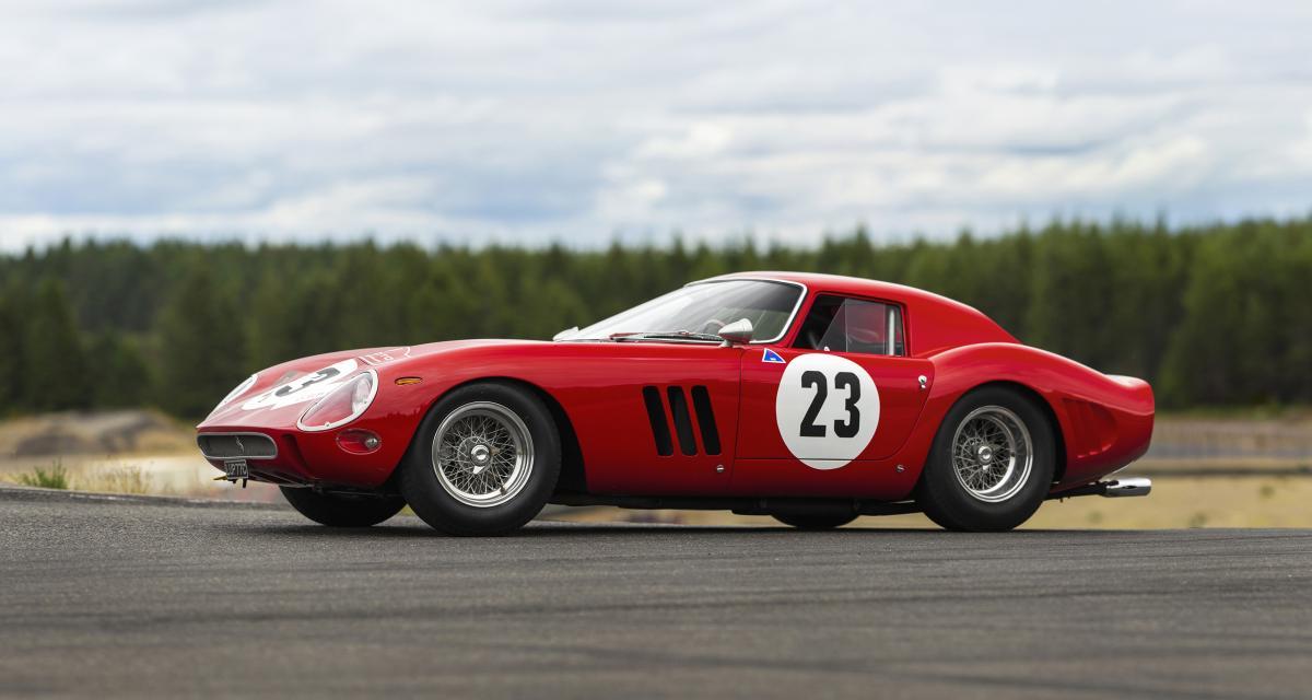 Ferrari, Aston Martin, Alfa Romeo… Top 25 des voitures les plus chères vendues aux enchères
