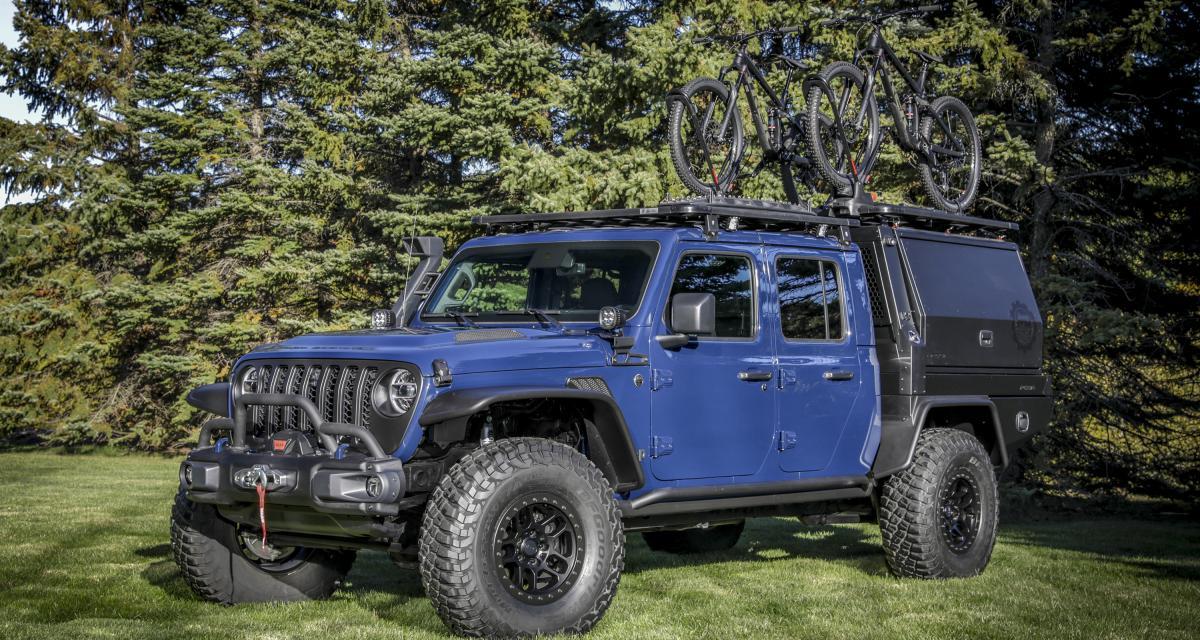 Jeep Gladiator Top Dog Concept : le tout-terrain de rêve des amateurs de VTT