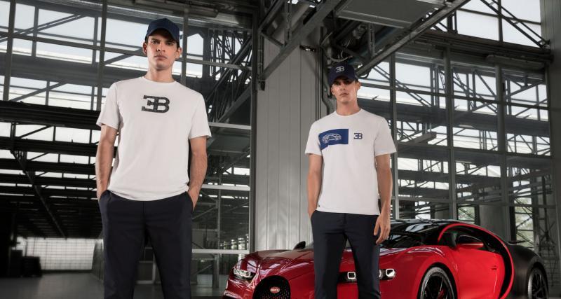 Après la Bolide, Bugatti sort sa nouvelle collection... de vêtements
