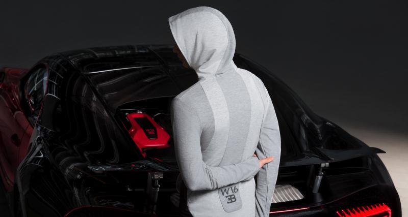 Inspirée des différents modèles Bugatti