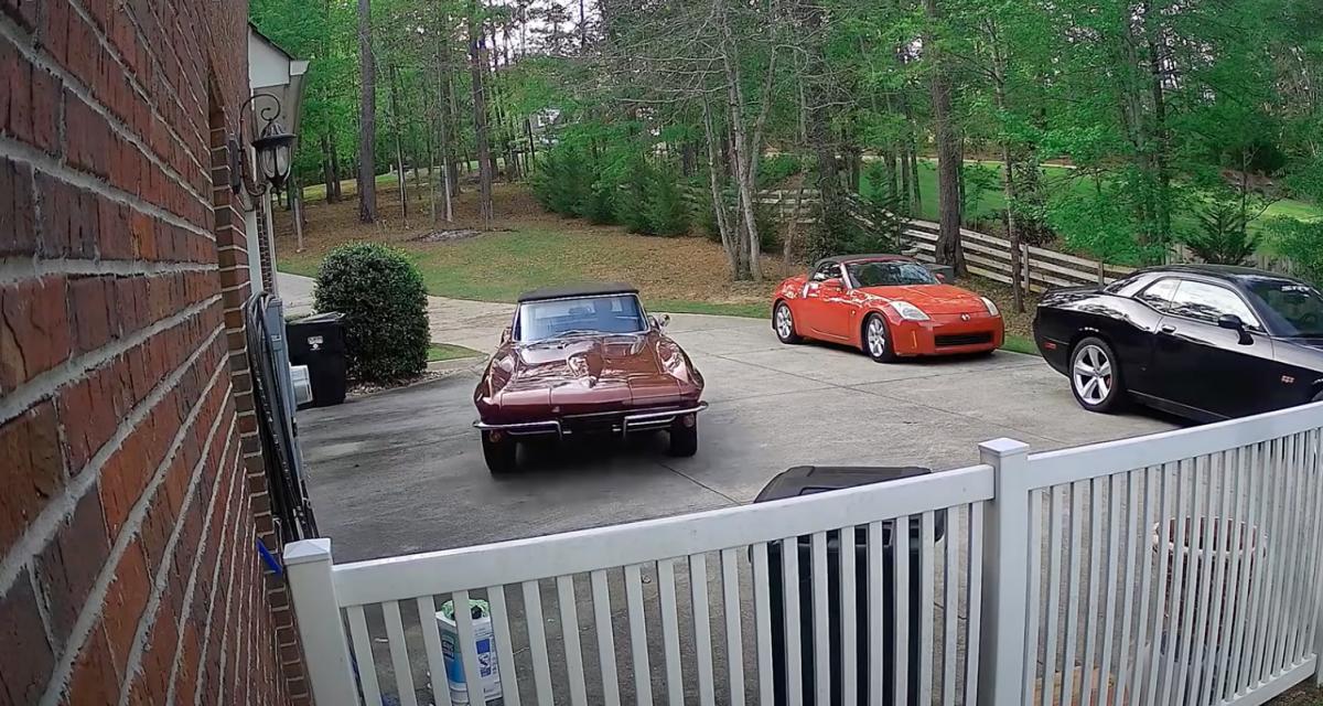Voilà ce qui arrive quand on ne prend pas assez soin des freins de sa Corvette Stingray de 1966 (vidéo)