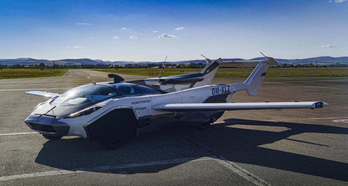AirCar by Klein Vision : la voiture volante en 4 points