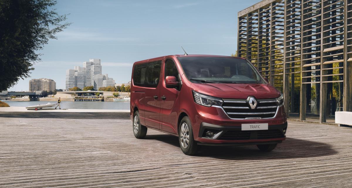 Renault Trafic restylé (2021) : l'utilitaire en version civilisée en 4 points