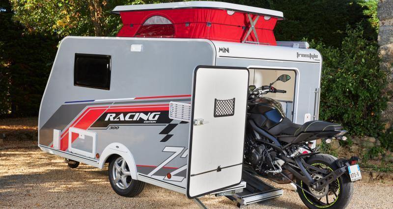 Mini Freestyle Racing 300 : la caravane préférée des motards