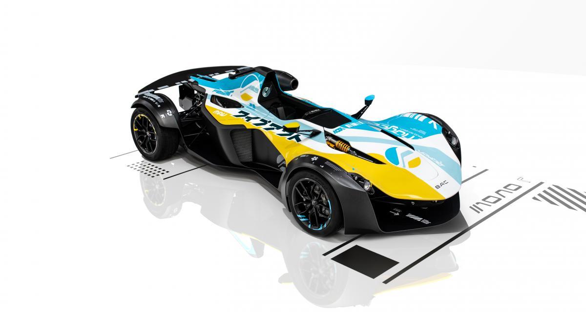 Une voiture inspirée du célèbre jeu Playstation WipEout ? Le constructeur automobile BAC l'a fait !