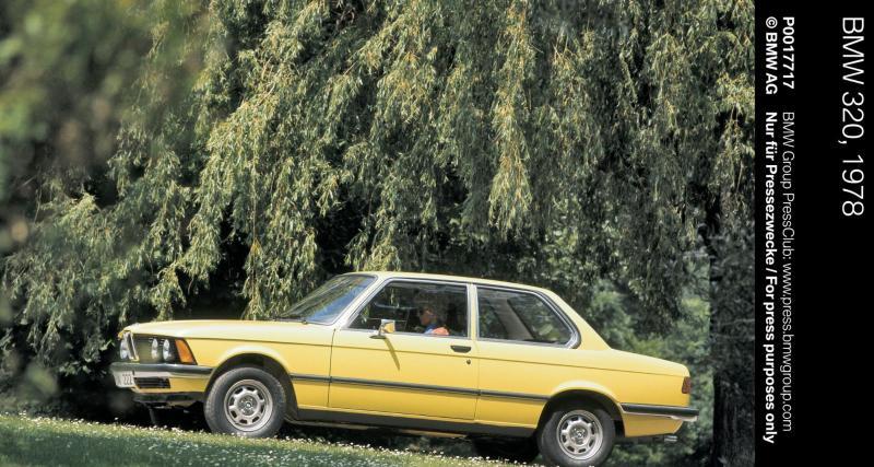 Sa première voiture ? Une BMW 320i
