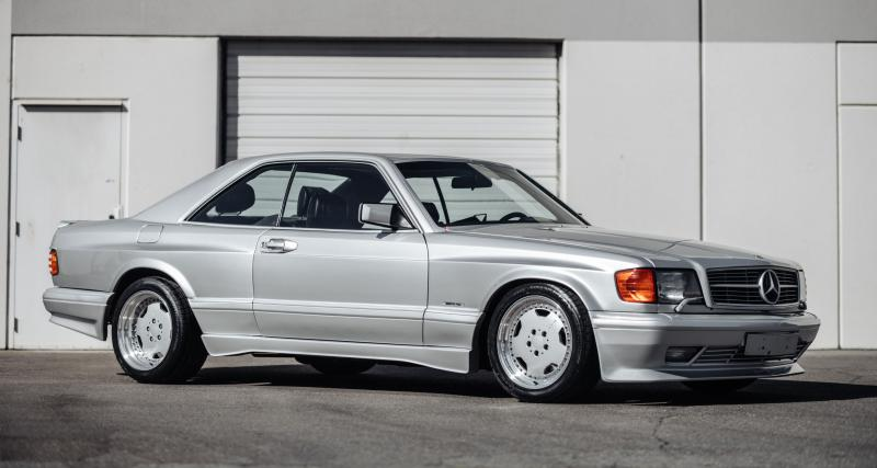 Mercedes-Benz 560 SEC AMG 6.0 Wide Body : un V8 monstrueux pour une armoire à glace
