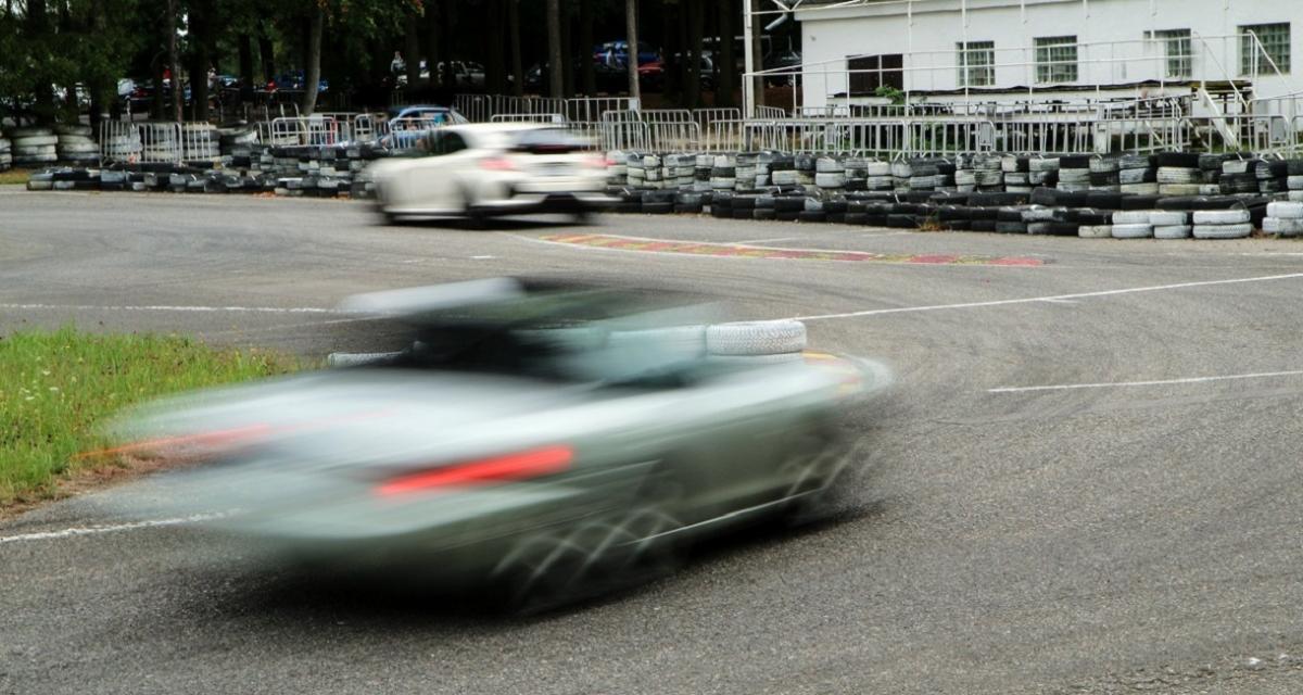 Course entre une BMW Série 3 et une Citroën C4 à 200 km/h sur la nationale 13