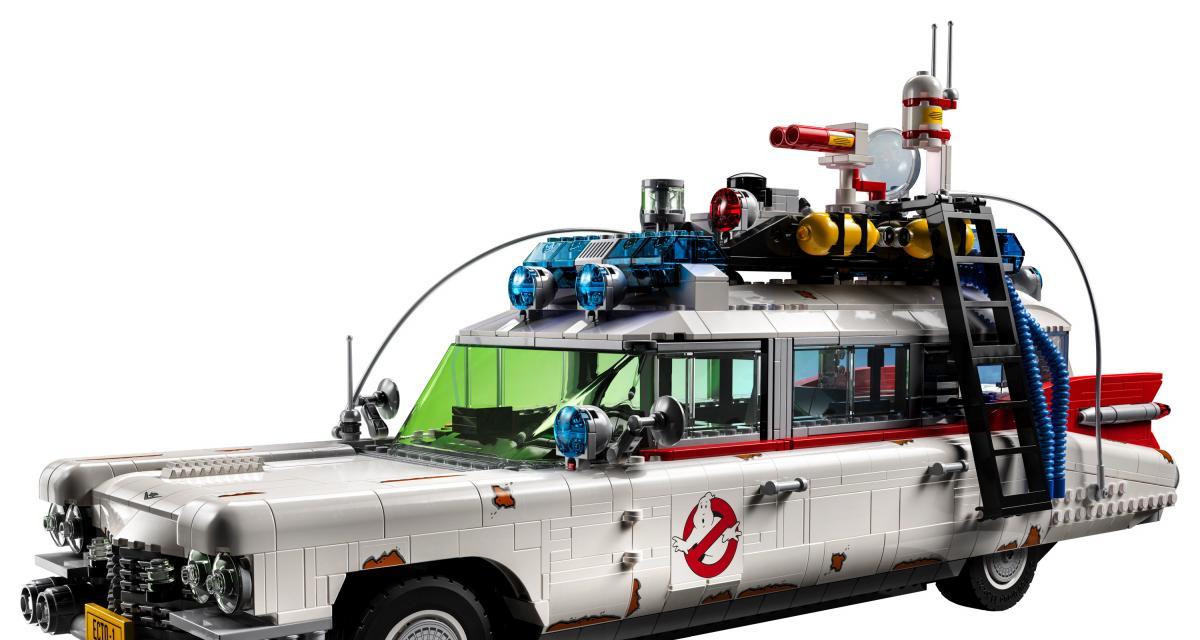 Lego annonce une nouvelle pièce de collection, l'Ecto-1 de Ghostbusters !
