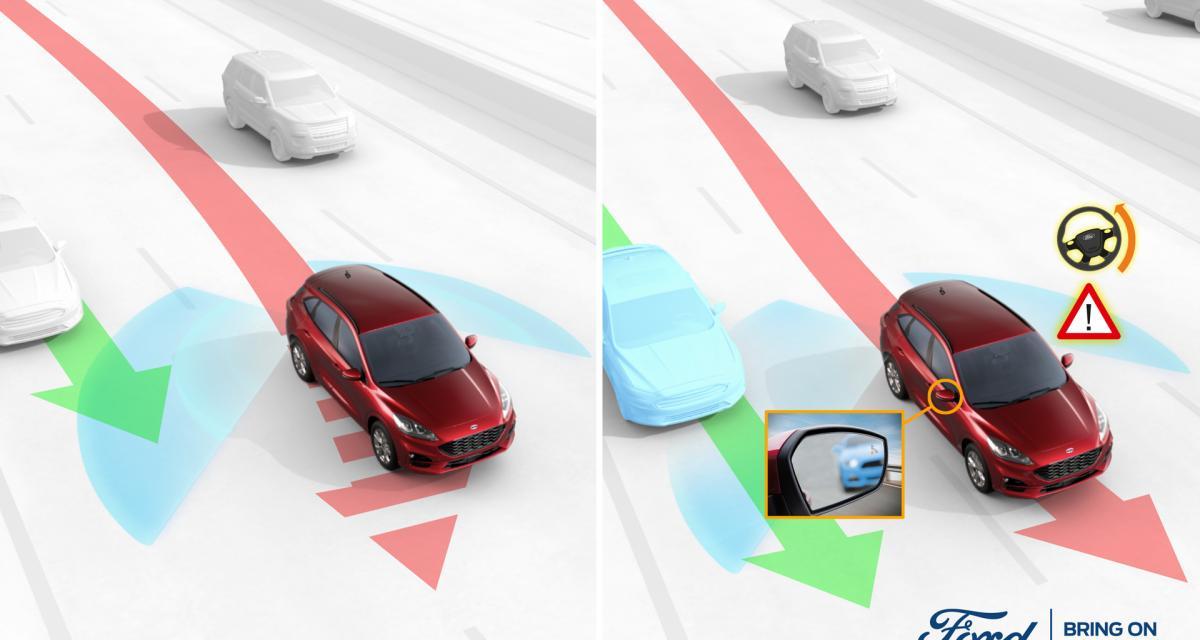 Ford développe un nouveau système pour éviter les accidents liés aux angles morts (vidéo)