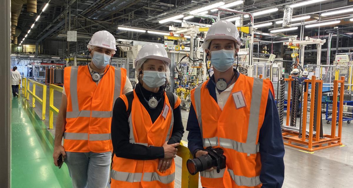 Usine Toyota de Valenciennes : les secrets de fabrication de la nouvelle Yaris hybride