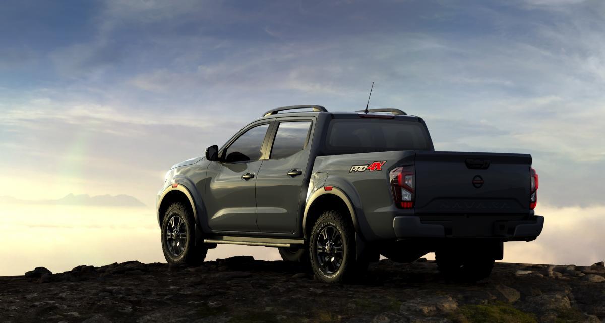 Nissan Navara restylé (2021) : mises à jour techniques et pack baroudeur inédit Pro-4X
