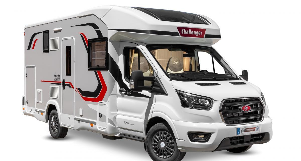 Camping-car Challenger 260 : cap sur le confort