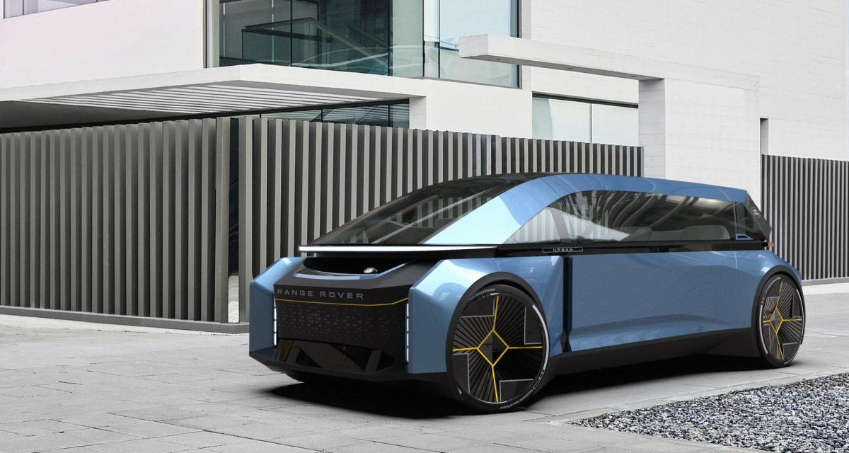 Que pourrait donner un Range Rover totalement autonome ? Un graphiste s'est posé la question, voilà le résultat