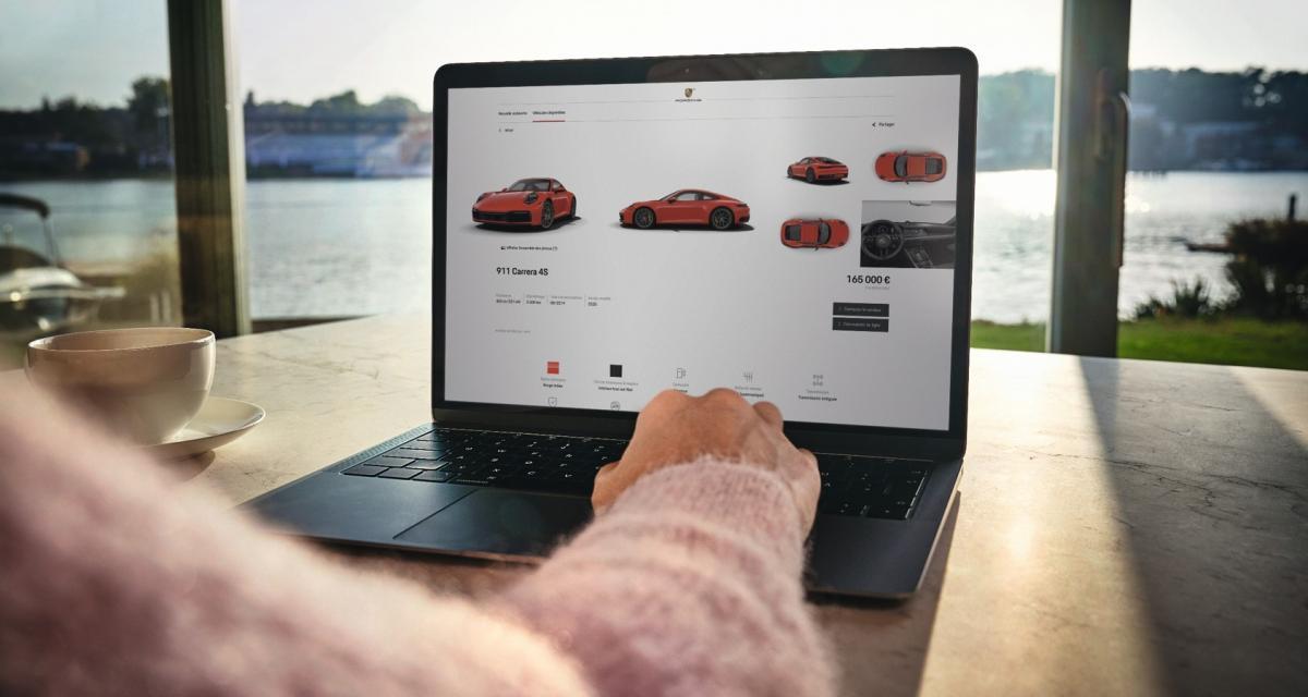 Commander votre nouvelle Porsche en ligne, c'est maintenant possible