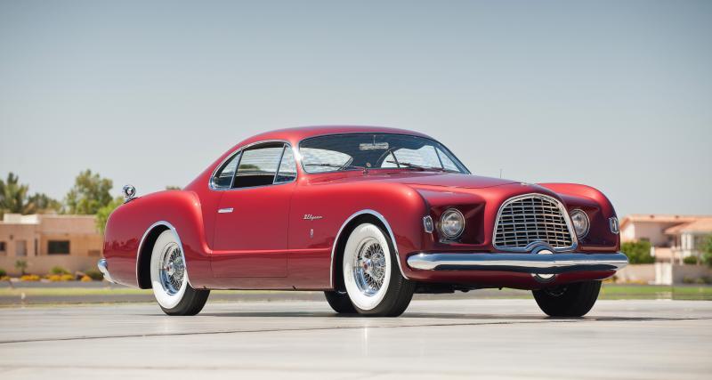 Chrysler d'Elegance Ghia : une ligne italienne agrémentée de folie américaine