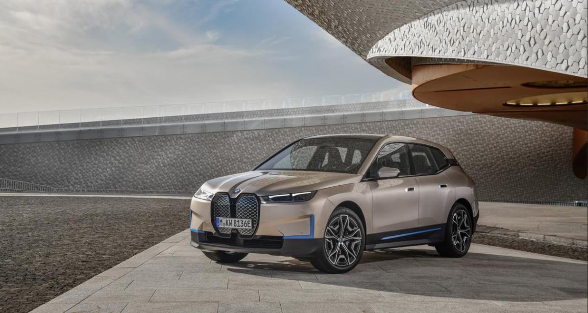 BMW iX : jusqu'à 600 km d'autonomie pour le nouveau SUV électrique de la marque allemande