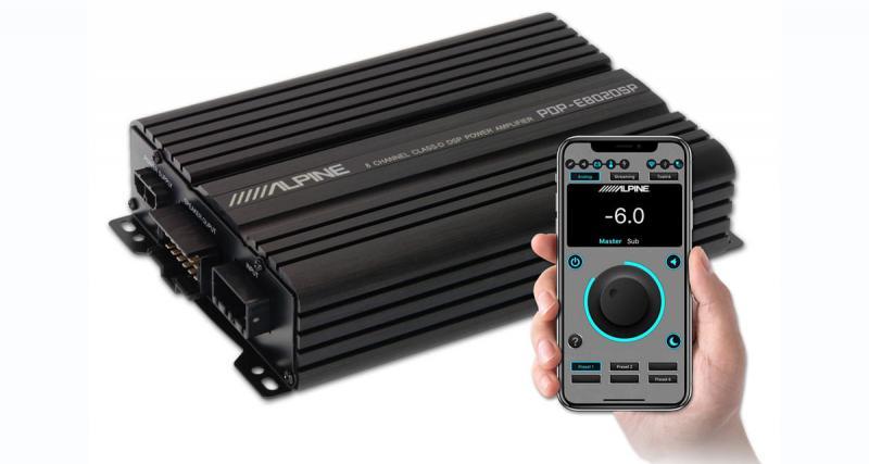 Alpine Electronics présente un nouvel ampli DSP à 8 canaux