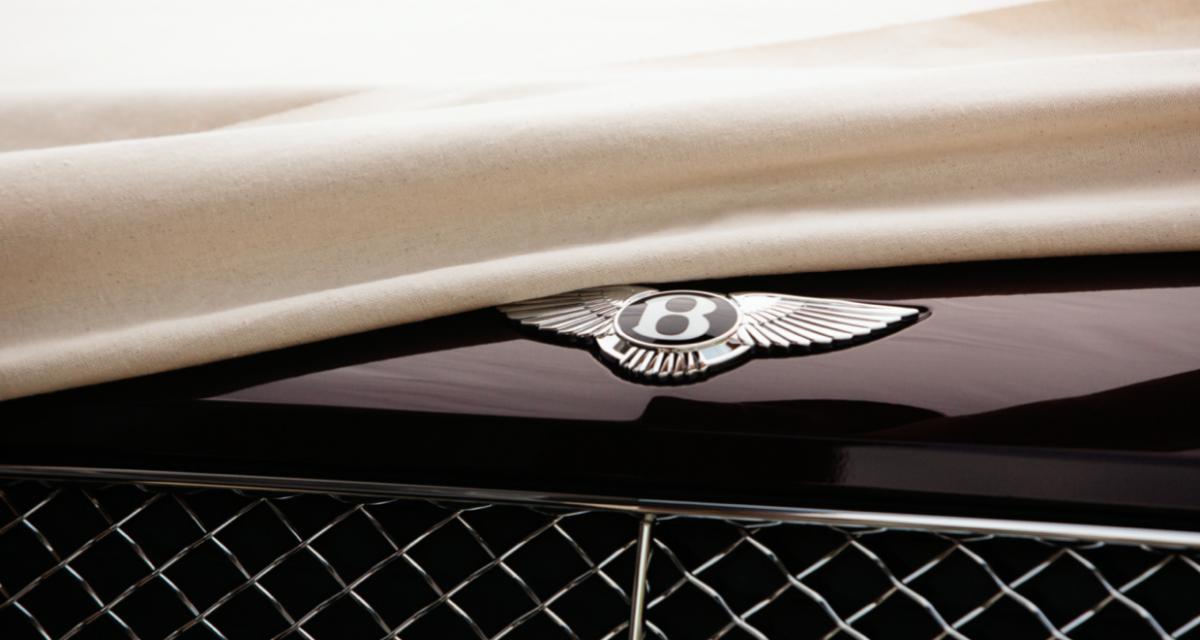 Bentley se lance, la marque va devenir 100% électrique