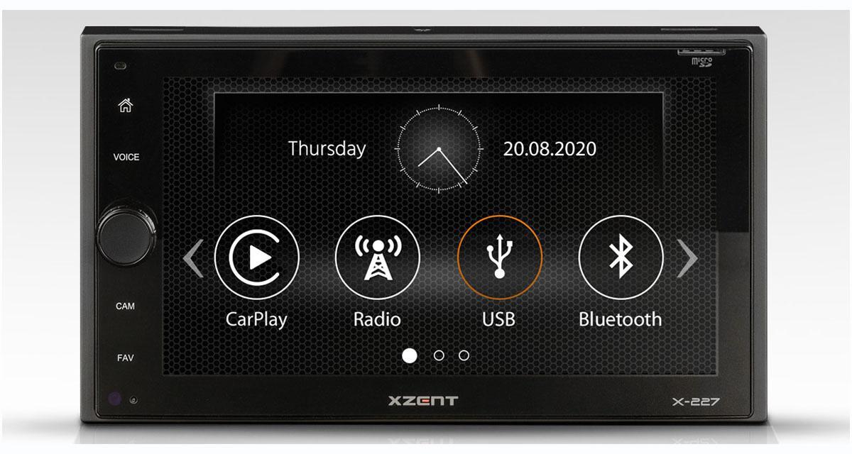 Xzent commercialise un nouvel autoradio CarPlay à un prix canon