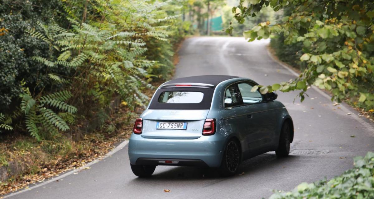 Tranquille à 203 km/h au volant de sa Fiat 500 : la dolce vita sans permis