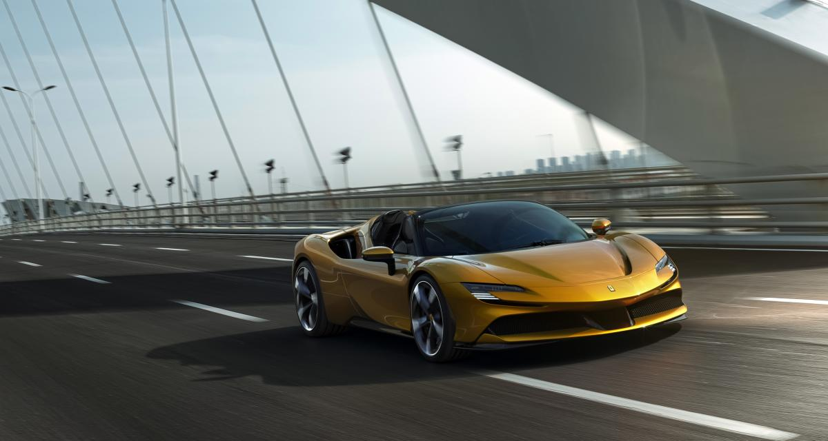 Ferrari SF90 Stradale Spider : hypercar, hybride et maintenant découvrable
