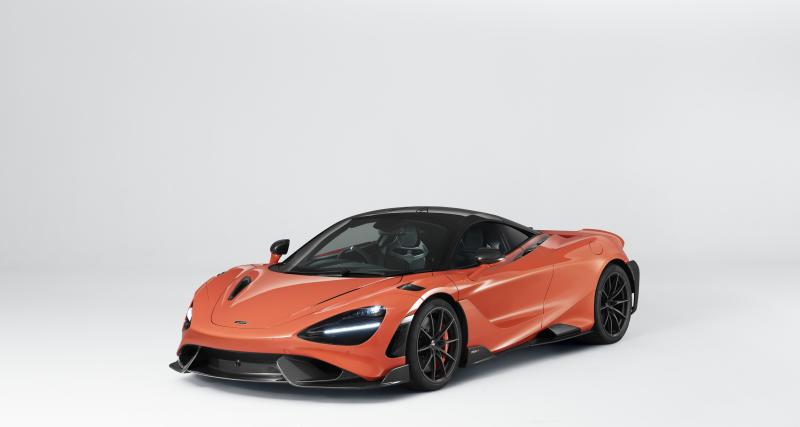Une McLaren 765 LT comme cadeau de bienvenue