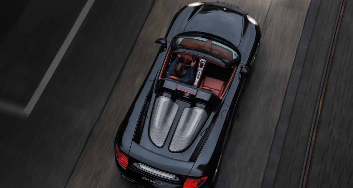 Porsche Carrera GT : la supercar à moteur V10 fête ses 20 ans à Berlin