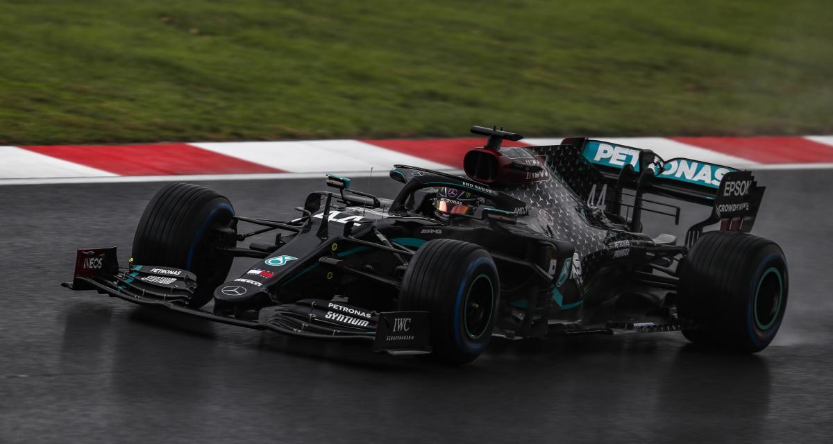 GP de Turquie de F1 : le classement final, à la fin c'est toujours Hamilton qui gagne