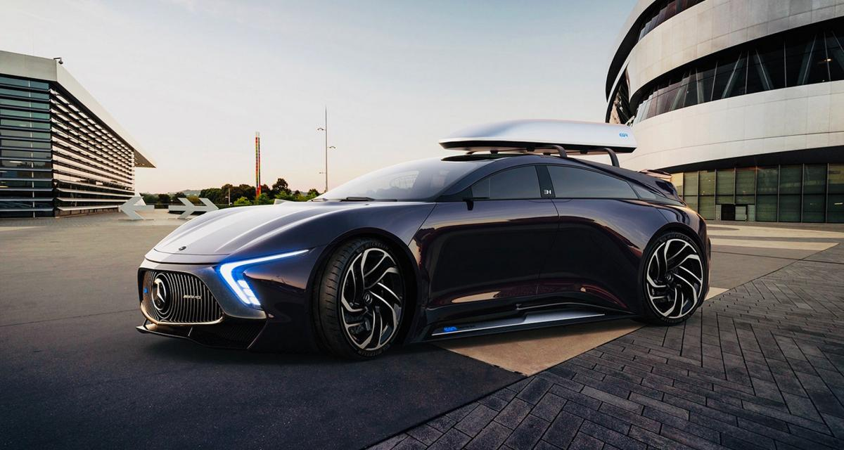 Ce Concept Electrique Pourrait Donner Des Idees A Mercedes