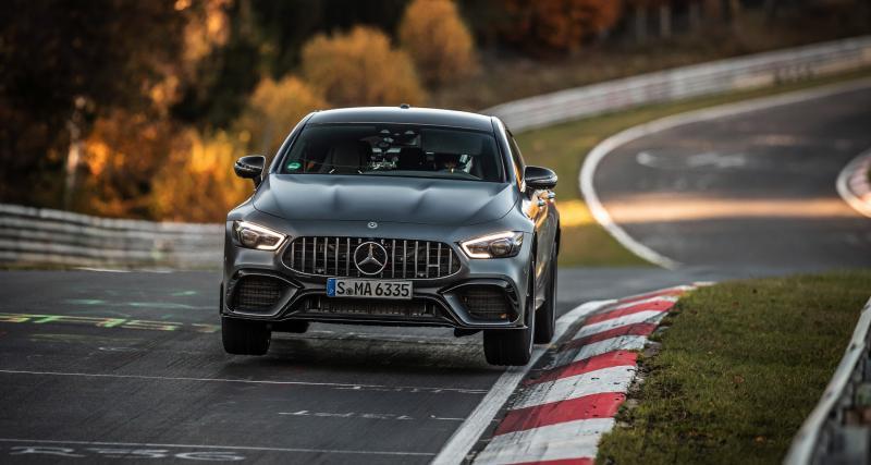 Mercedes-AMG GT 63 S 4 portes : l'étoile reprend sa couronne au Nürburgring
