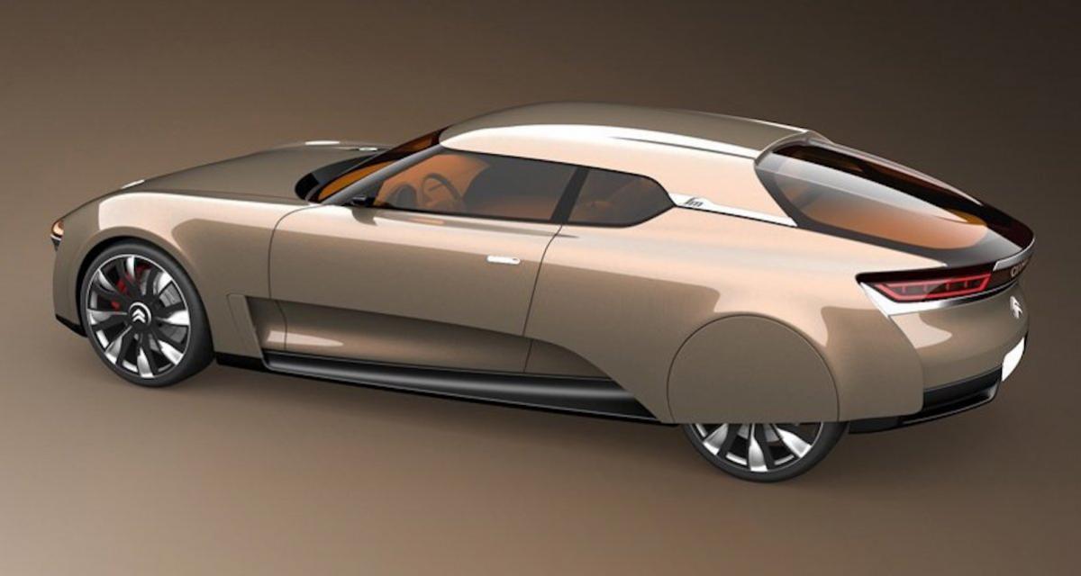 Citroën SM revival : un concept néo-rétro pour les 50 ans de la belle française