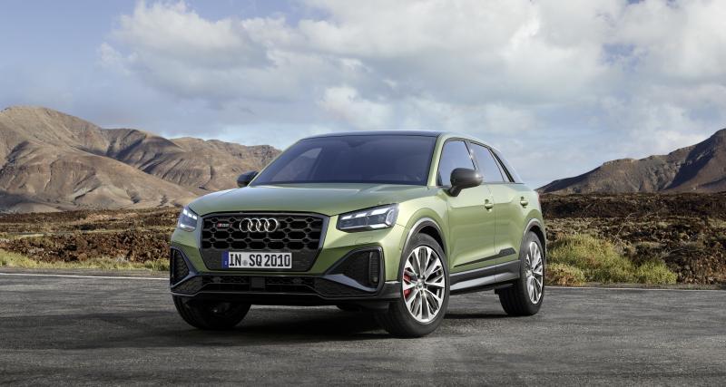 Audi SQ2 (2021) : petit lifting pour le baby SUV sportif