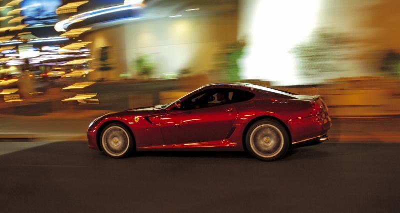 Une Ferrari 599 GTB