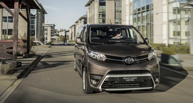Toyota Proace Verso Electrique (2021) : le van japonais en version écolo