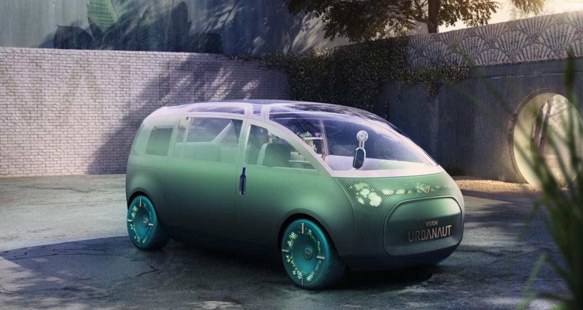 Mini Vision Urbanaut : le futur de l'automobile à l'écoute de vos envies
