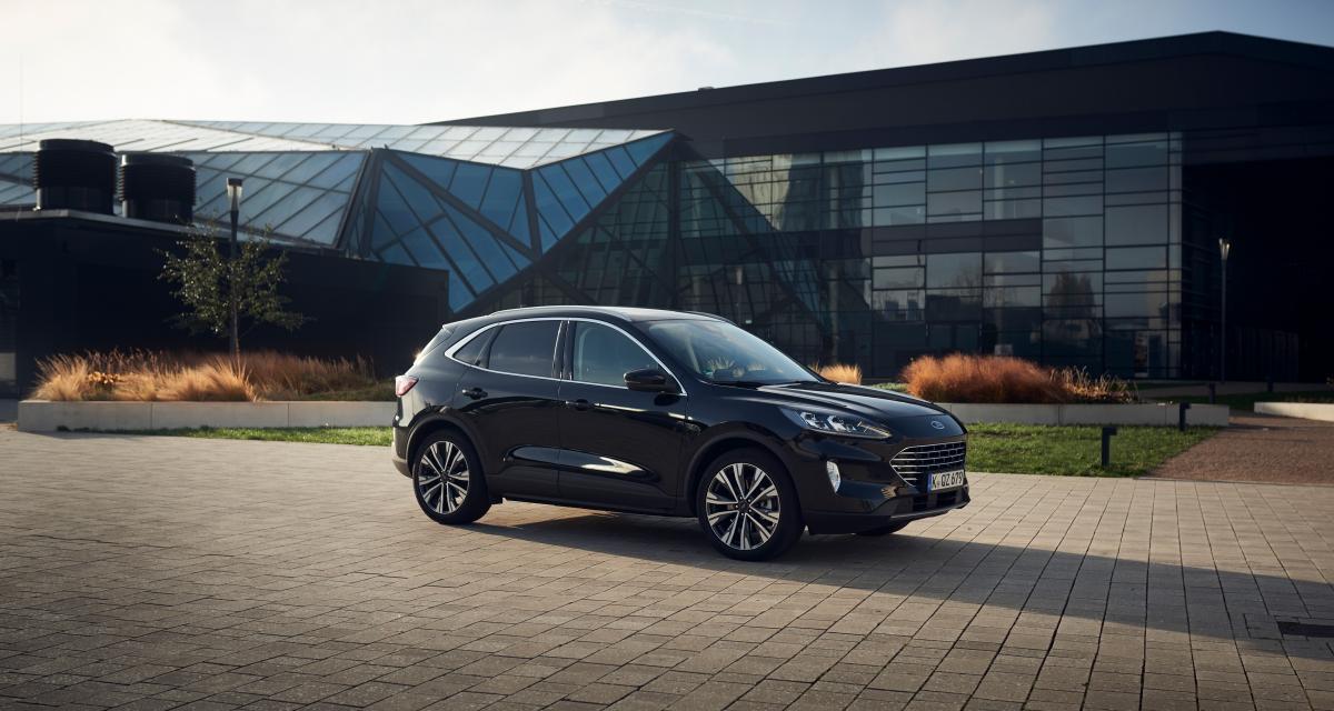 1.000 km avec un seul plein pour le nouveau Ford Kuga Hybrid (2021)